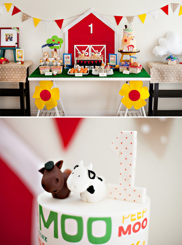 farm party diy theme decorations idea cowboys and cowgirls