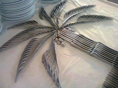 Cutlery palm