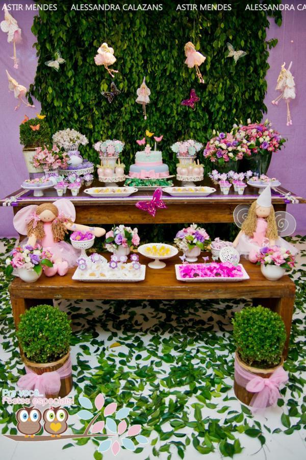 1st birthday party ideas theme decoration fairytale dream