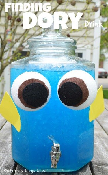 finding dory drink kids party sweet ideas