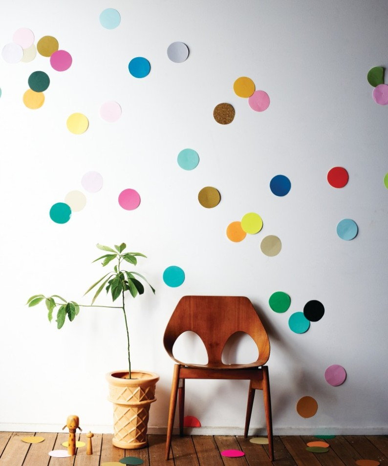Wall Confetti NYE New Years Eve Party Decorations DIY