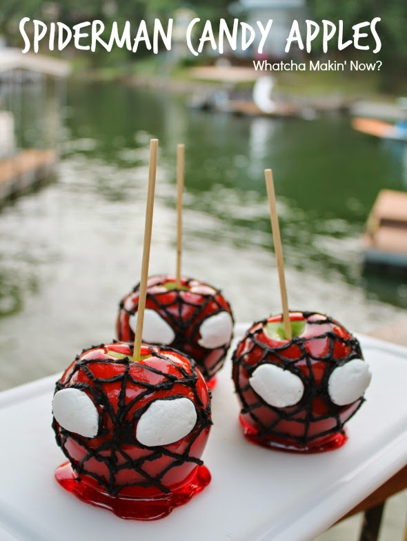 DIY Spiderman Theme Sweet Idea Party Supplies