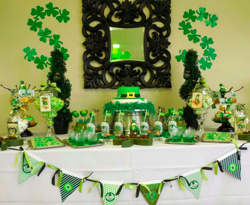 The luck of the irish st pats day the party people for Decoration saint patrick