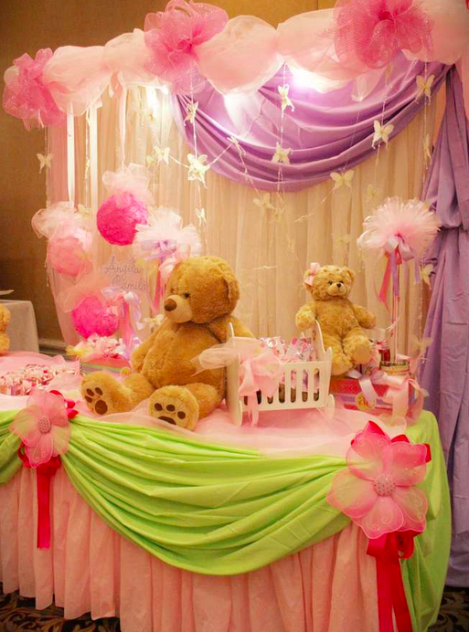 96 party decoration ideas for girls go glam with this for Baby decoration stores