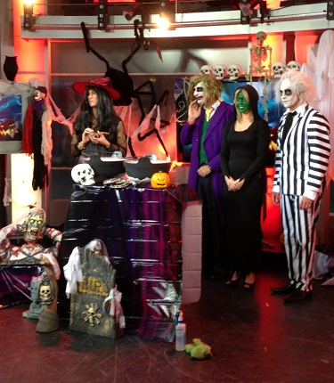 Channel 7's Sunrise Program features our Halloween products!