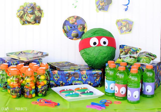 Teenage Mutant Ninja Turtle Party – Ninja Turtle Party Invitation Ideas