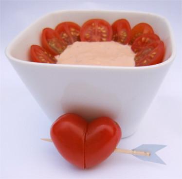 cherry tomato cocktail dip