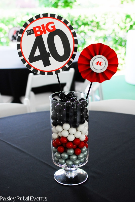 Table centrepiece ideas the party people online magazine