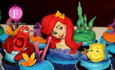 little mermaid cupcakes