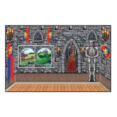 medieval party scene setter