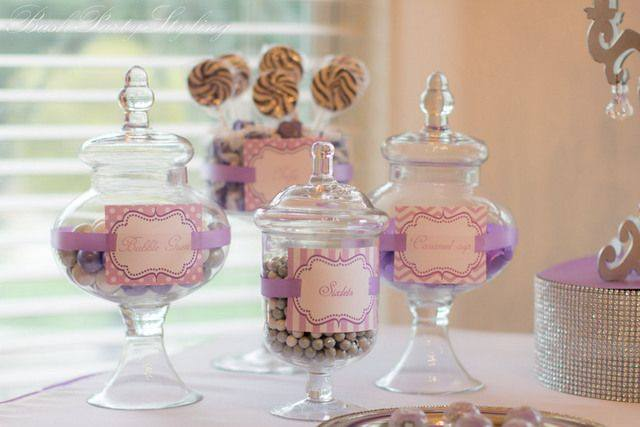 princess bling lolly buffet