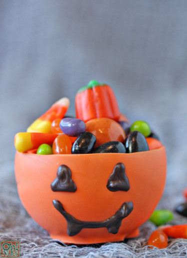 pumpkin lolly cups diy halloween party ideas