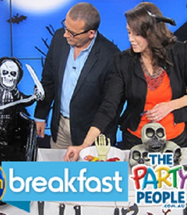 Channel 10's Breakfast Show, Halloween Special