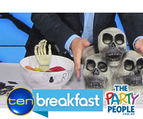 Channel Ten Breakfast Show Halloween