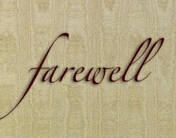 Farewell & Bon Voyage