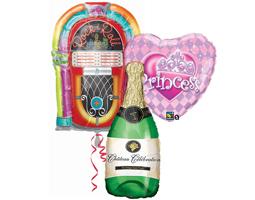 Foil & Bubble Balloons