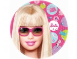 Plates - Dessert, Barbie All Doll'd Up 8 pk