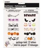 Tattoos - Halloween, Fingers