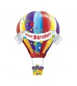 Balloon - Foil Super Shape, Hot Air Balloon