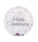 Balloon - Foil, Happy Anniversary