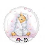 Balloon - Foil, Pooh Baby Girl