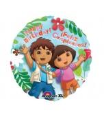 Balloon - Foil, Dora Birthday