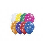 "Balloon - Latex, Print 11"" Fireworks"
