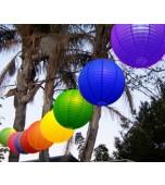 """Festoon Lantern Kit, 14""""/35 cm Rainbow"""