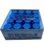 Bubbles, Blue Glitz 16 pk