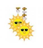 Ceiling/Hanging Decoration - Sunburst Danglers