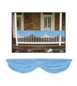 Fabric Bunting - Light Blue