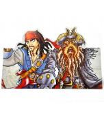 Invitations - Pirates of the Caribbean 8 pk