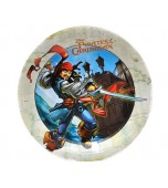 Dinner Plates, Pirates of the Caribbean 8 pk