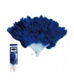Fan - Feather, Blue