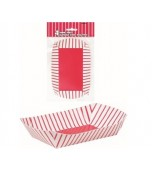 Paper Snack Tray  4 pk