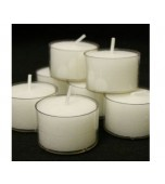 Candle - Tealight in Acrylic Cup 50 pk
