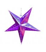 3D Star Pink 30 cm