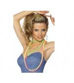 Flourescent Beads - Neon 4 pk