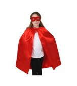 Cape and Mask Set - Child, Red