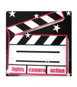 Coasters - Lights, Camera, Action 4 pk - reduced!