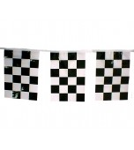 Bunting - Square, Checkered Flag
