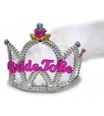 Headpiece, Tiara Bride To Be With Veil