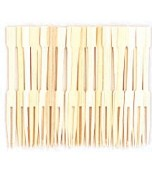 Cocktail Forks, Bamboo 100 pk