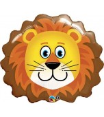 Balloon - Foil Super Shape, Loveable Lion